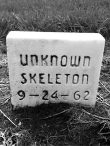 Unknown Skeleton