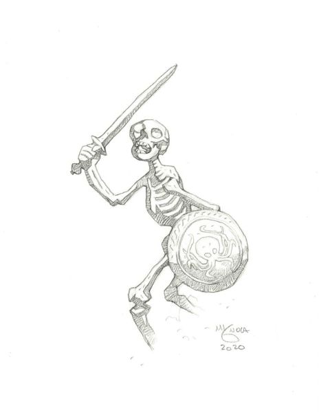 Harryhausen - Skeleton