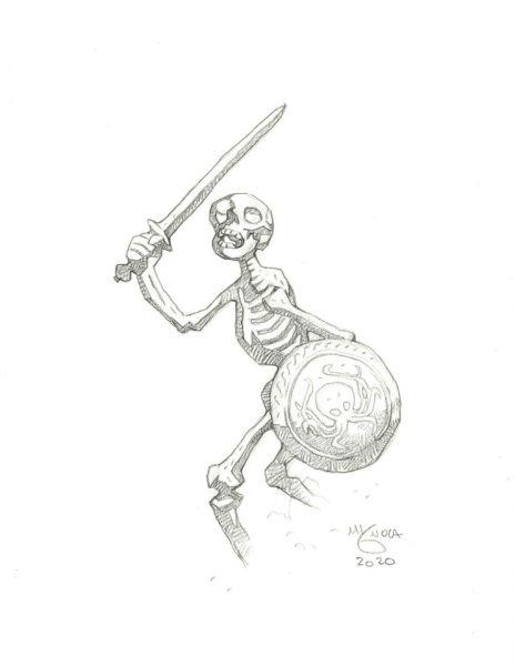 Harryhausen - Skeleton